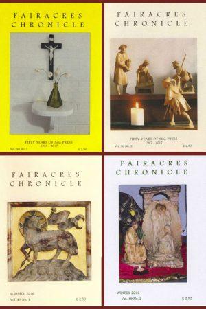 Fairacres Chronicle Subscription