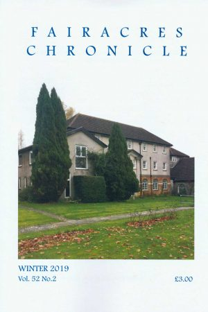 Fairacres Chronicle Winter 2019